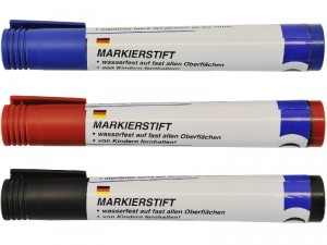 Markierstift-Set 3-Tlg